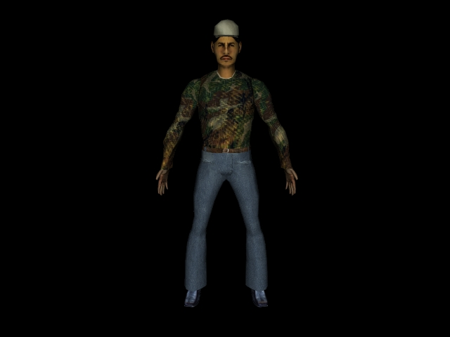 character1 3d model 3ds 160587