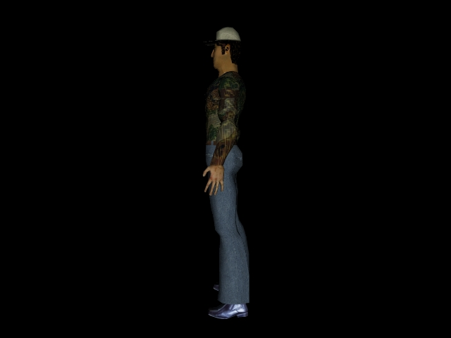 character1 3d model 3ds 160588