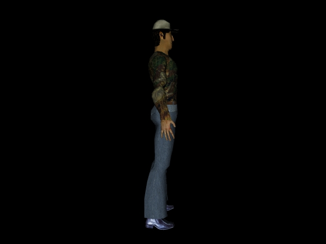 character1 3d model 3ds 160590