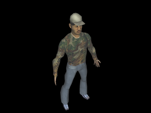 character1 3d model 3ds 160591