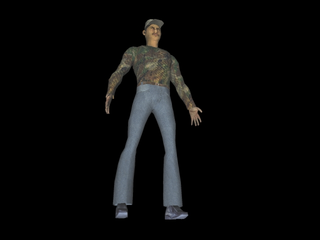 character1 3d model 3ds 160592