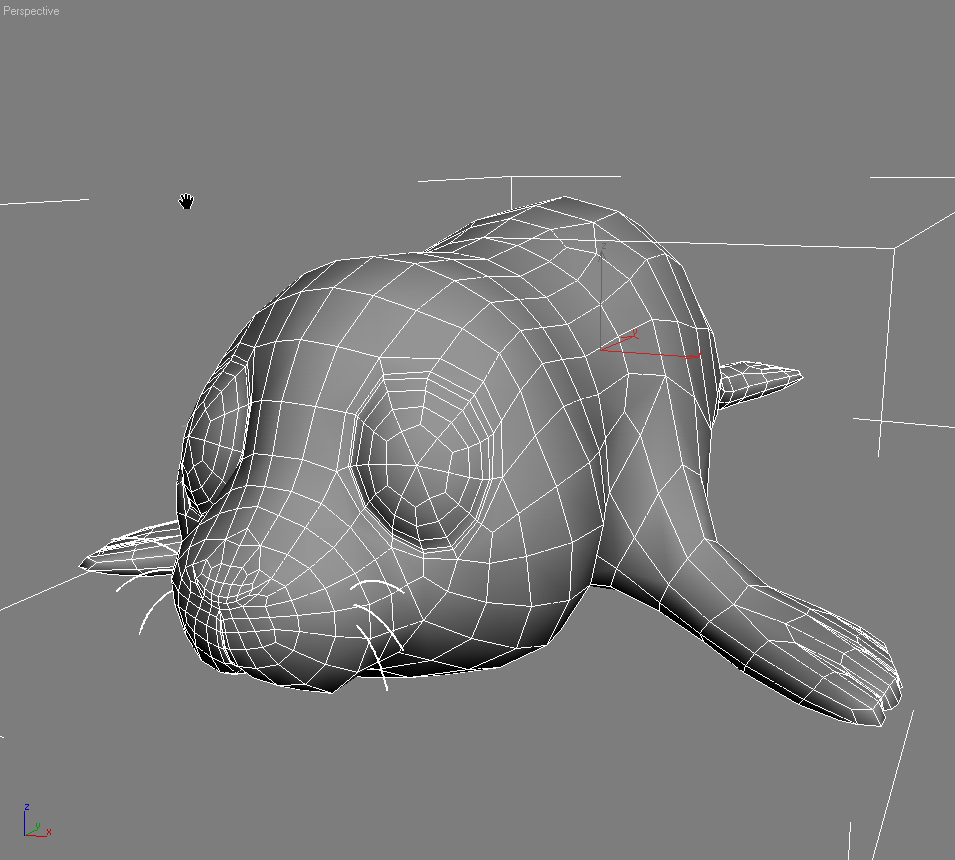 cartoon baby seal rigged 3d model 3ds max fbx obj 155453