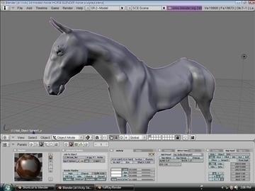 horse v3 3d model max 91703