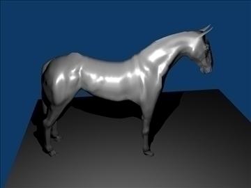horse v3 3d model max 91709