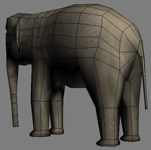 lowpoly asian elephant 3d model 3ds max obj 147571