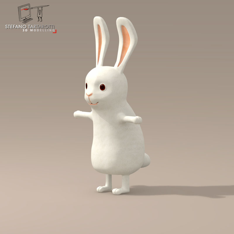 Rabbit cartoon character