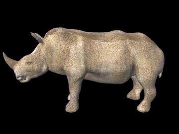 rhino 2 3d model obj 107286