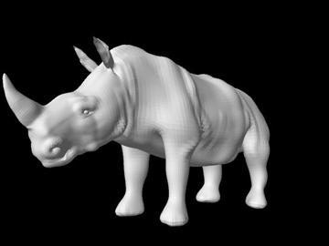 rhino 2 3d model obj 107287