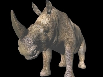 rhino 2 3d model obj 107294