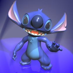 Stitch RIGGED ( 119.17KB jpg by supercigale )