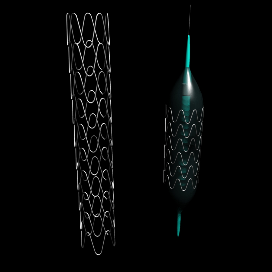 stent & balloon 3d model 3ds max fbx blend br4 obp obj 119436