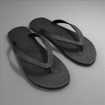 sandals 3d model max 103782