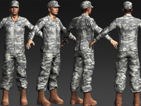 daniel military cloth 3d model max 114379