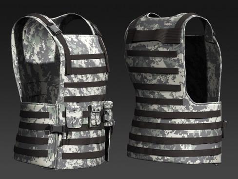 daniel military cloth 3d model max 114385