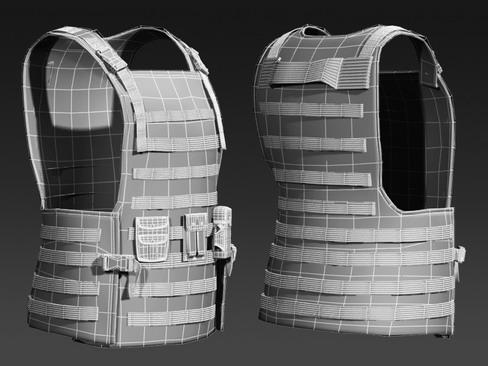 daniel military cloth 3d model max 114387