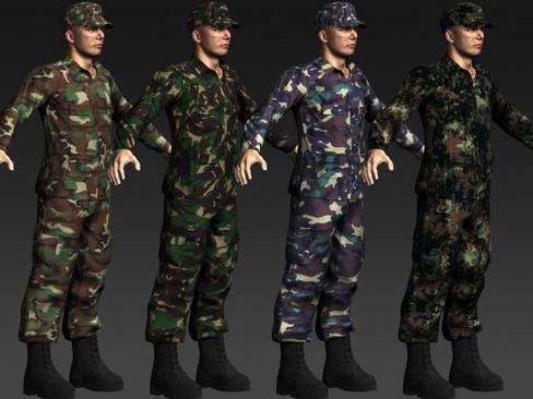 daniel military cloth 3d model max 114392