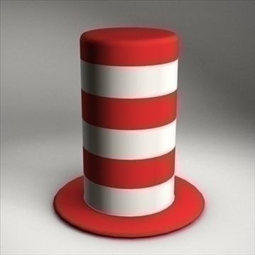 karnival hat.zip 3d model 3ds dxf fbx c4d x obj 94091