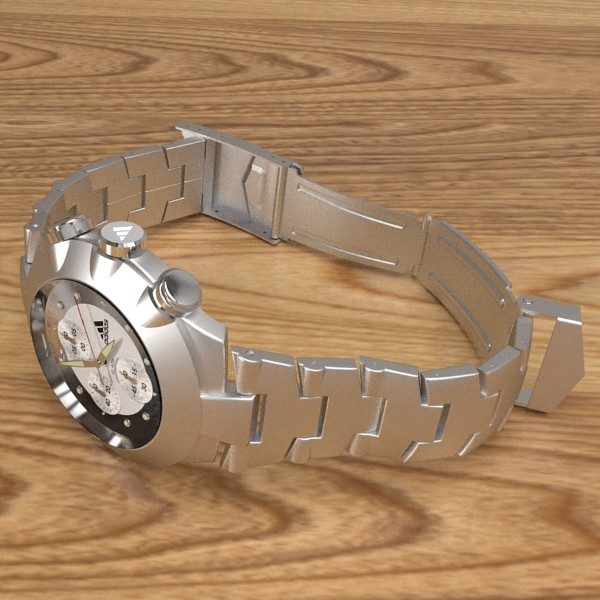 chronograph watch 3d model 3ds fbx skp obj 115584