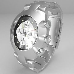 Chronograph watch ( 67.76KB jpg by Pixelblock )