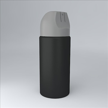 deodorant jar 3d model 3ds 3dm  obj 106879