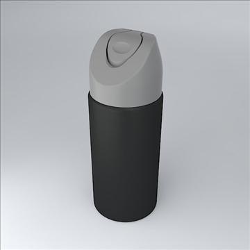 deodorant jar 3d model 3ds 3dm  obj 106880