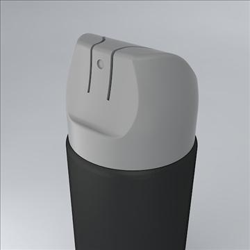 deodorant jar 3d model 3ds 3dm  obj 106882