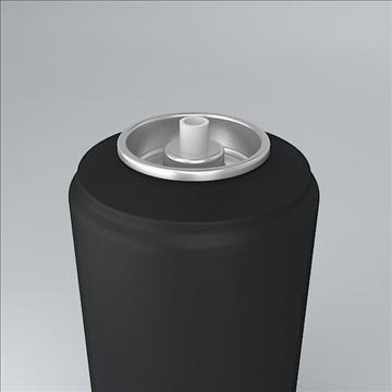 deodorant jar 3d model 3ds 3dm  obj 106884