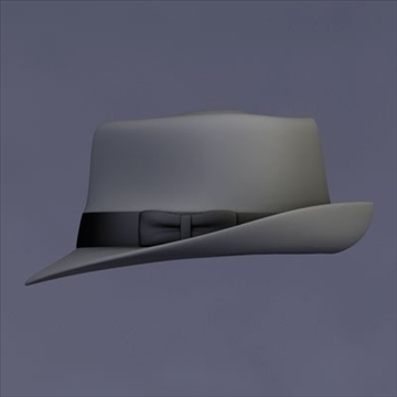 fedora hat 3d model download 3ds dxf fbx c4d x obj in women apparel 60db9fed5d2b