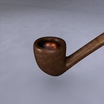 gandalfs pipe 3d model 3ds dxf fbx c4d x obj 103256