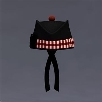 glengarry bonnet 3d model 3ds dxf fbx c4d x obj 104710