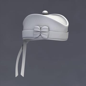 glengarry bonnet 3d model 3ds dxf fbx c4d x obj 104715