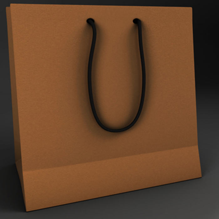 paper bag 3d model 3ds ma mb obj 155580