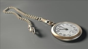 pocketwatch model 3d dxf lwo hrc xsi obj 108996 lain