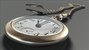 pocketwatch 3d model dxf lwo hrc xsi obj other 108997