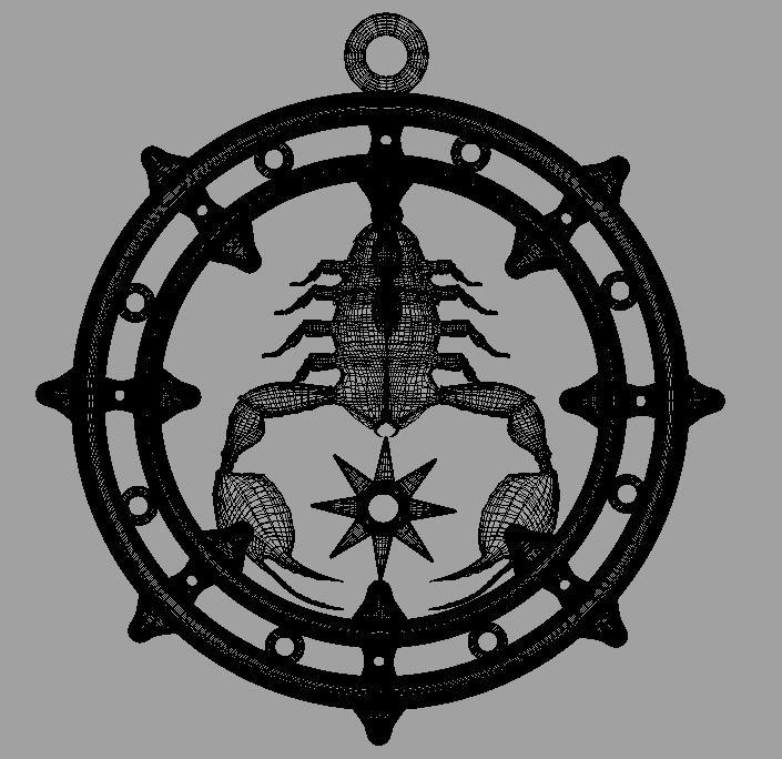 skorpions 3d modelis fbx dae ma mb obj 116307