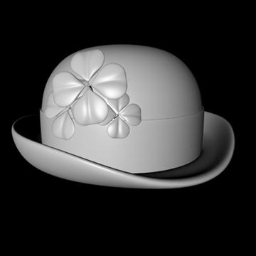 st. patricks day hat 2.zip 3d modelis 3ds dxf fbx c4d x obj 94034