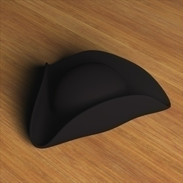 three cornered hat.zip 3d model 3ds dxf fbx c4d x obj 97267