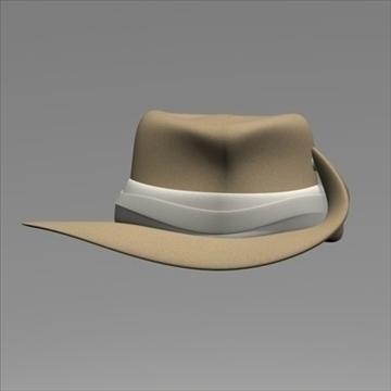 australian hat.zip 3d model 3ds dxf fbx c4d x obj 93233