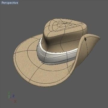 australian hat.zip 3d model 3ds dxf fbx c4d x obj 93234