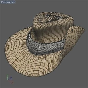 australian hat.zip 3d model 3ds dxf fbx c4d x obj 93236
