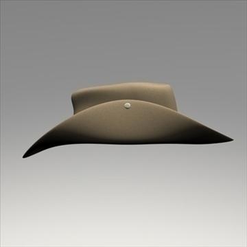 australian hat.zip 3d líkan 3ds dxf fbx c4d x obj 93238