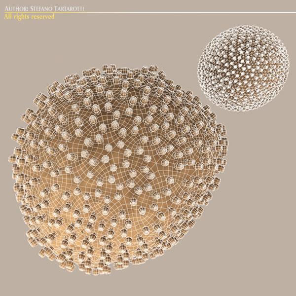 Lymphocytic Choriomeningitis Virus 3d model 0