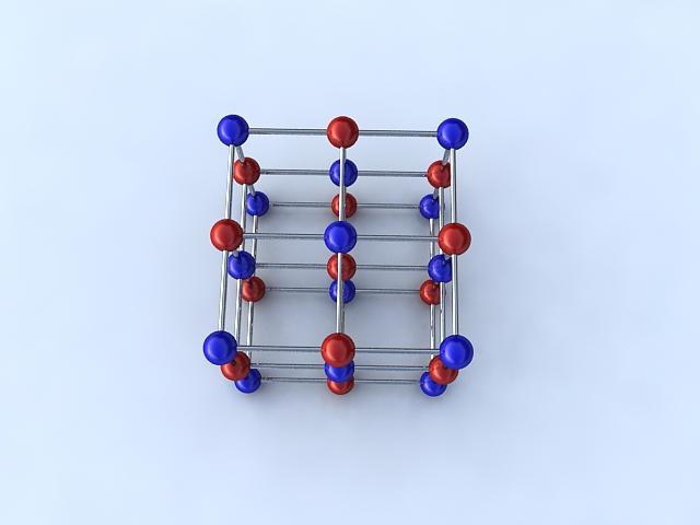 Molecule 3d model max 123270