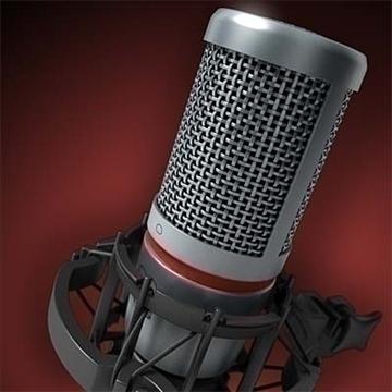 akg c 2000 b microphone 3d model 3ds max fbx obj 80769