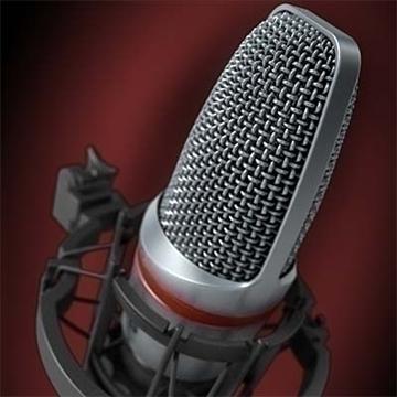 akg c 3000 b mikrofon 3d model 3ds max fbx obj 81244