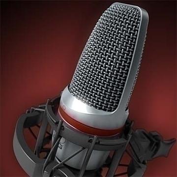 akg c 3000 b micreafón samhail 3d 3ds max fbx obj 81245