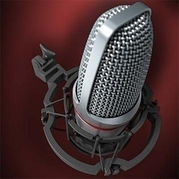 akg c 3000 b mikrofon 3d model 3ds max fbx obj 81246