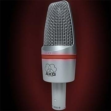 akg c 3000 b mikrofon 3d model 3ds max fbx obj 81248