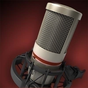 akg c 4000 b mikrofon 3d model 3ds max fbx obj 80777