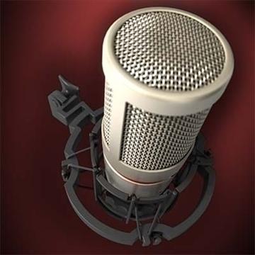 akg c 4000 b mikrofon 3d model 3ds max fbx obj 80778